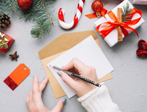 """""""Schreib mal wieder"""" – Weihnachtspost für die Bewohner der Zur Buche Seniorenhäuser"""