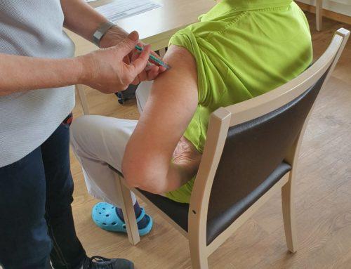 Zur Buche Seniorenhaus Konz-Roscheid erhält die zweite Corona-Impfung
