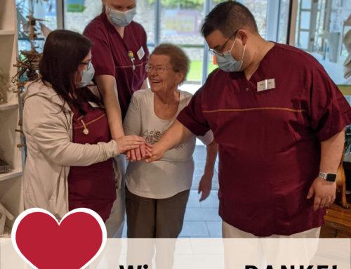 Internationaler Tag der Pflege 2021 in den Zur Buche Seniorenhäusern